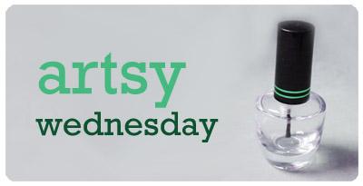 Artsy Wednesday: Pink nails