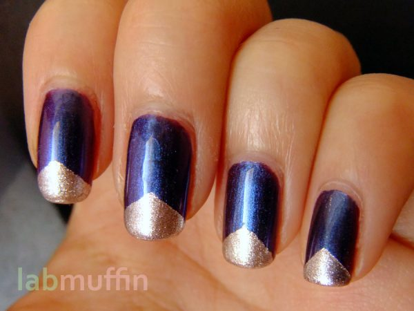 NOTD: Triangle tips over Nails Inc Garrick St