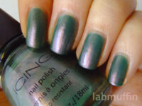 NOTD: Icing Peacock duochromey goodness + stamping