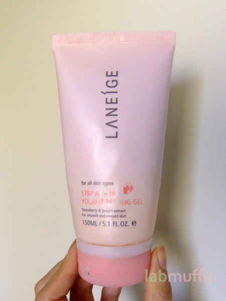 Review: Laneige Strawberry Yoghurt Peeling Gel
