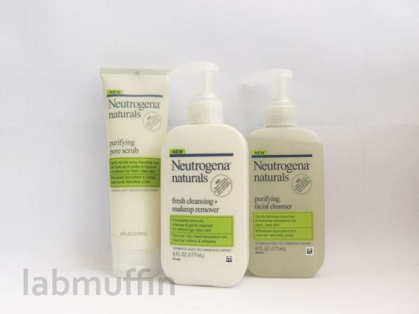 Neutrogena Naturals review and giveaway