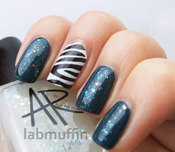 Blue nails for Autism Awareness April