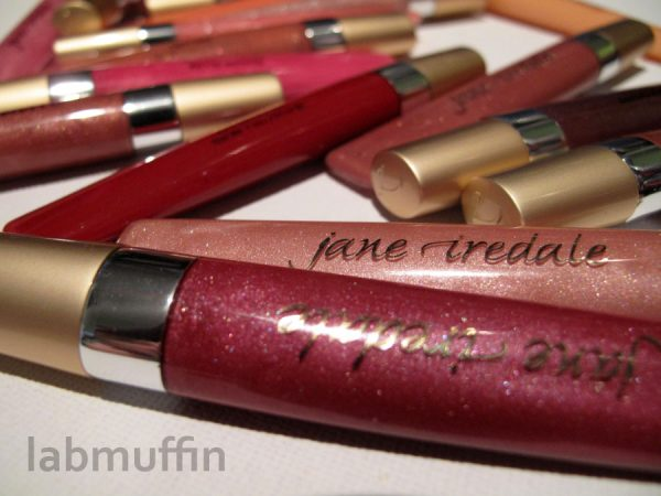 Jane Iredale PureGloss swatches and review – all 18 freaking shades!