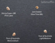 Face of Australia and Jane Iredale Glow Time BB reviews (introducing the black paper test!)