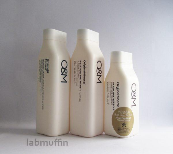 Original & Mineral shampoo and conditioner review