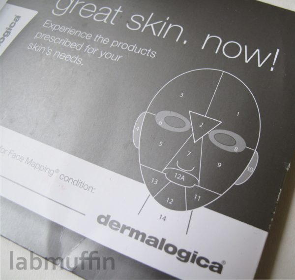 What's wrong with my face? (according to Dermalogica)