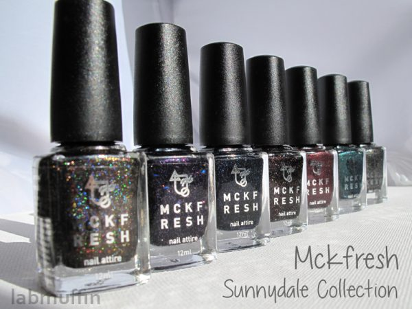 Mckfresh – The Sunnydale Collection swatches and review