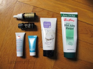 Winter dry skin skincare regimen