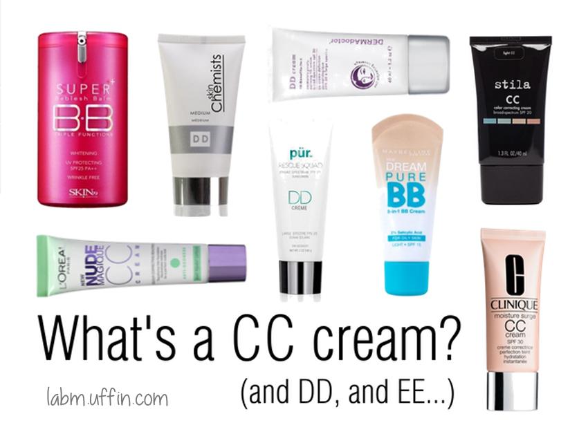 BB CC DD EE Creams
