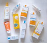 French sunscreen and skincare purchases