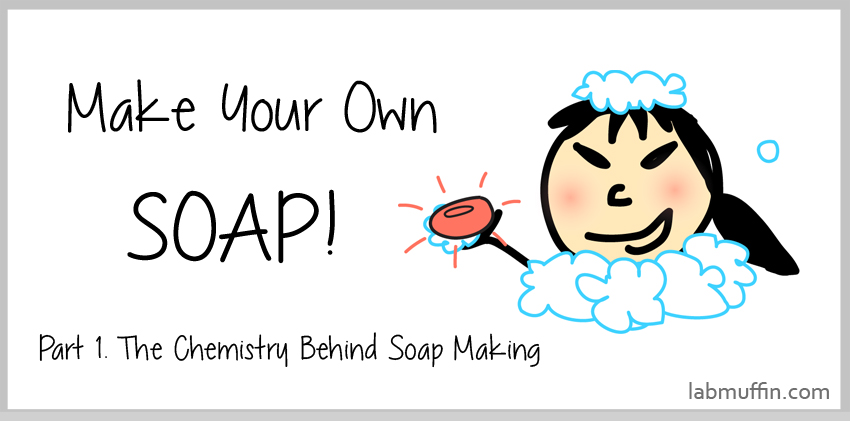 Make Your Own Soap! Part 1: The Chemistry Behind Soap Making