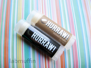 Low-Key Lip Products: Hurraw! and Luk Beautifood reviews