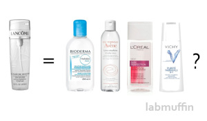 Micellar Water Dupes and Near-Dupes