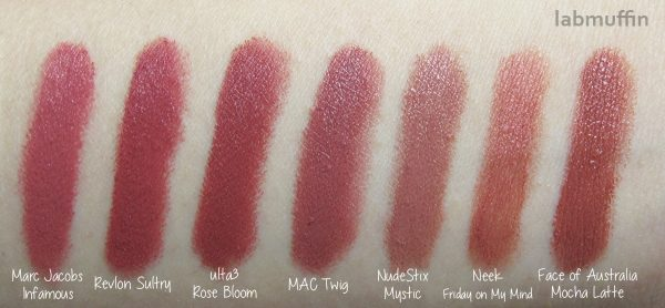 MAC Twig Dupes and Comparisons