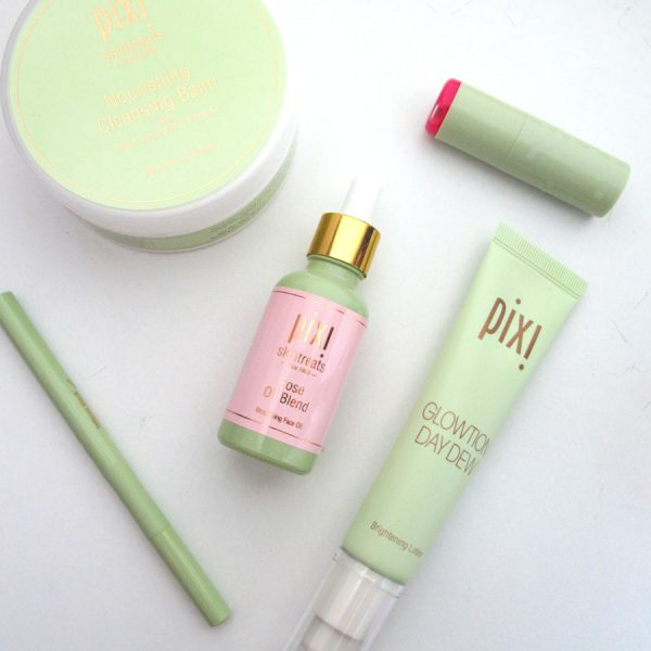 Pixi Cleansing Balm, Rose Oil and Glowtion Review