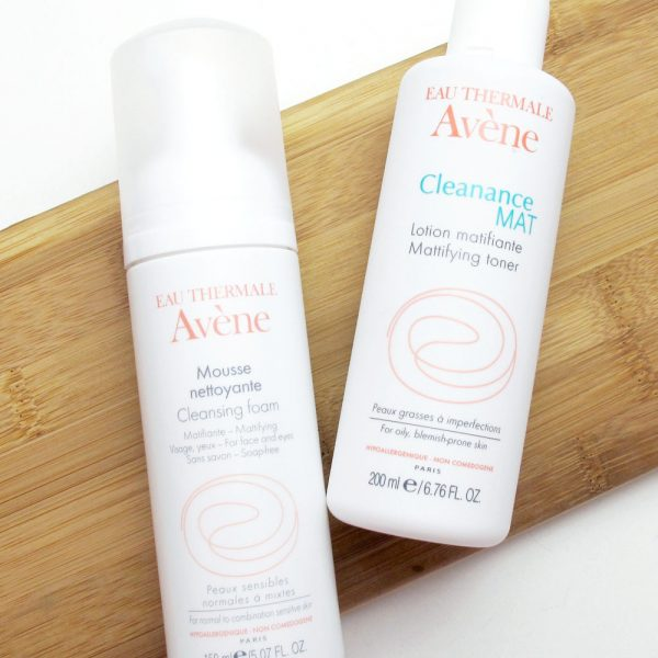 Avène Cleansing Foam and Mattifying Toner Skincare Review