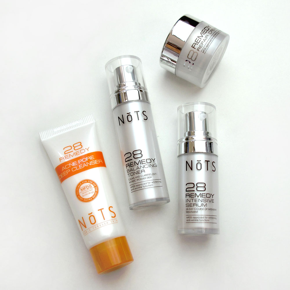 NoTS 28 Remedy Perfect Solution Set Skincare Review