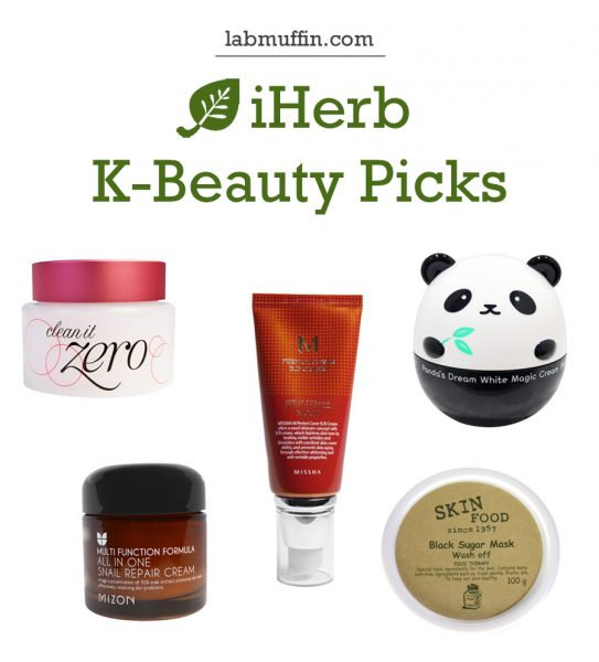 My Picks from iHerb's New Korean Beauty Selection
