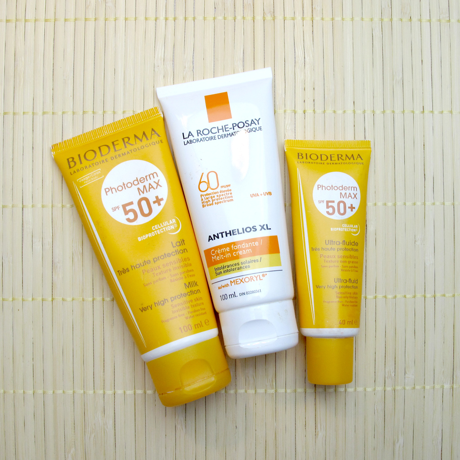 Sunscreen Review 2: Bioderma, La Roche-Posay