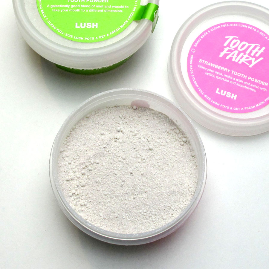 Lush Toothy Tabs and Powder Review