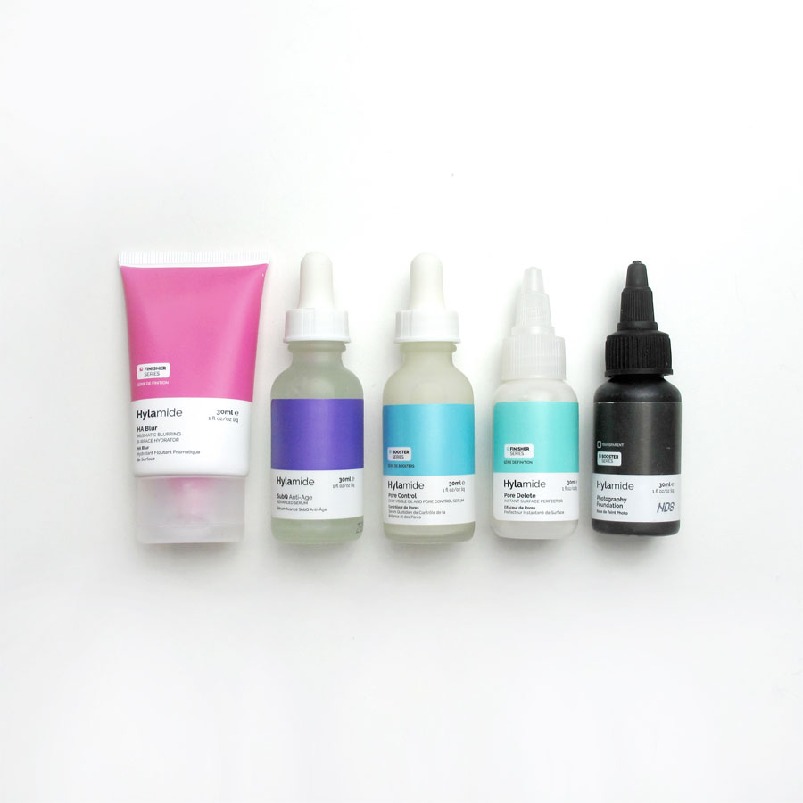 Hylamide review: HA Blur, SubQ, Pore Control & Delete and Photography Foundation