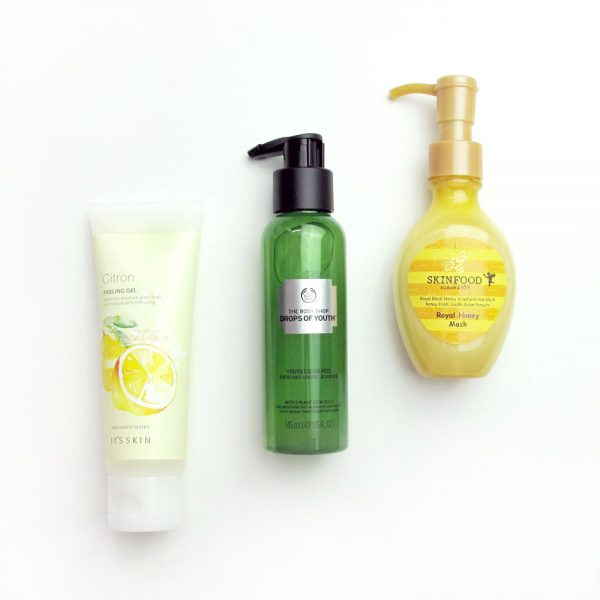 Peeling Gel Reviews: It's Skin, The Body Shop, Skinfood
