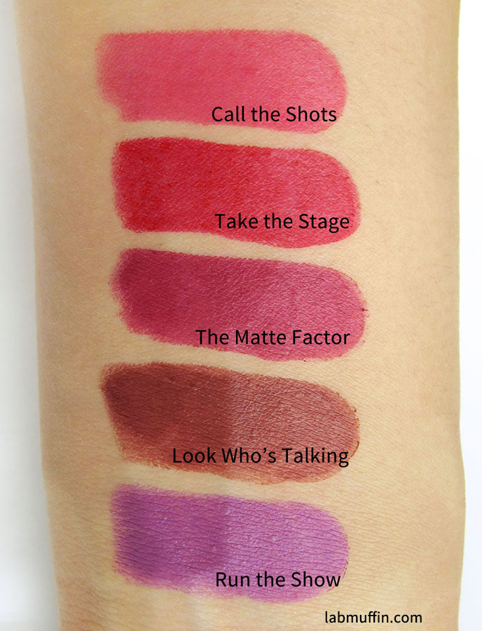 Rimmel The Only 1 Matte Lipstick: Swatches and Review