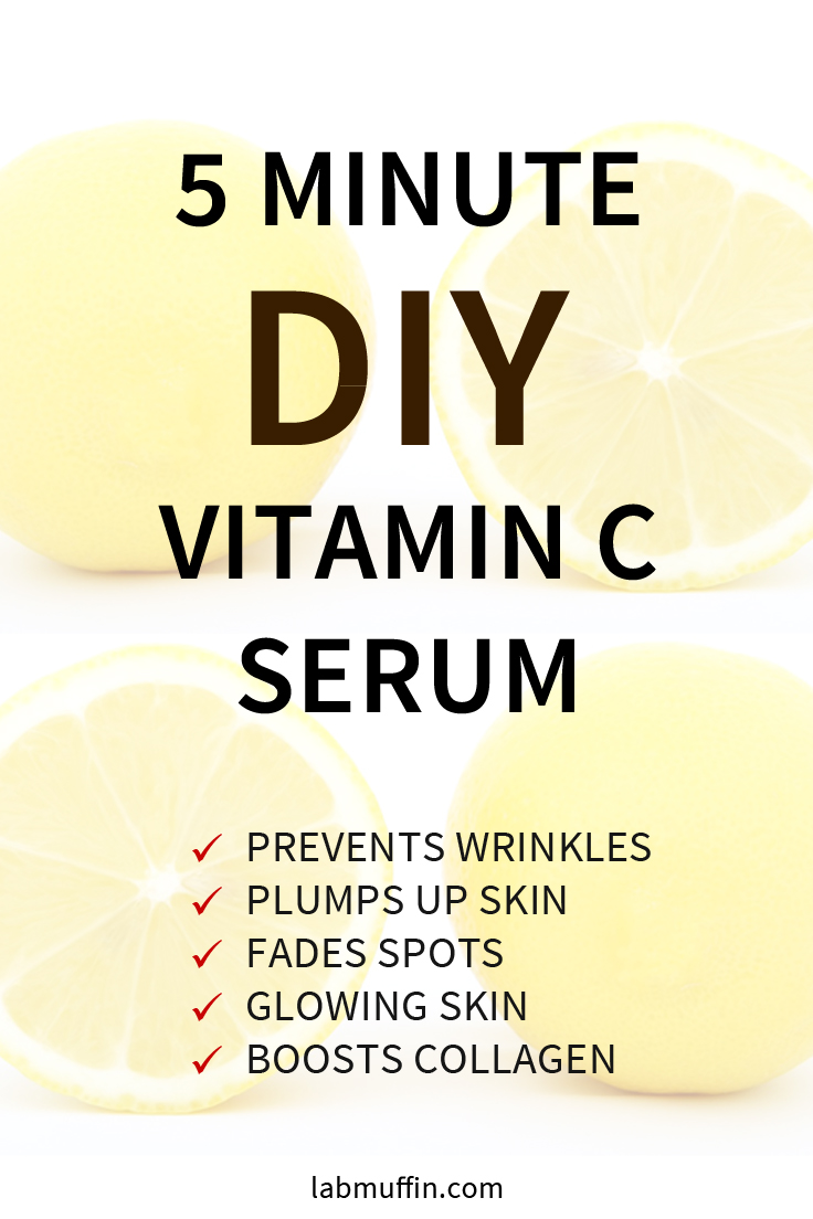 Easy DIY Vitamin C Serum