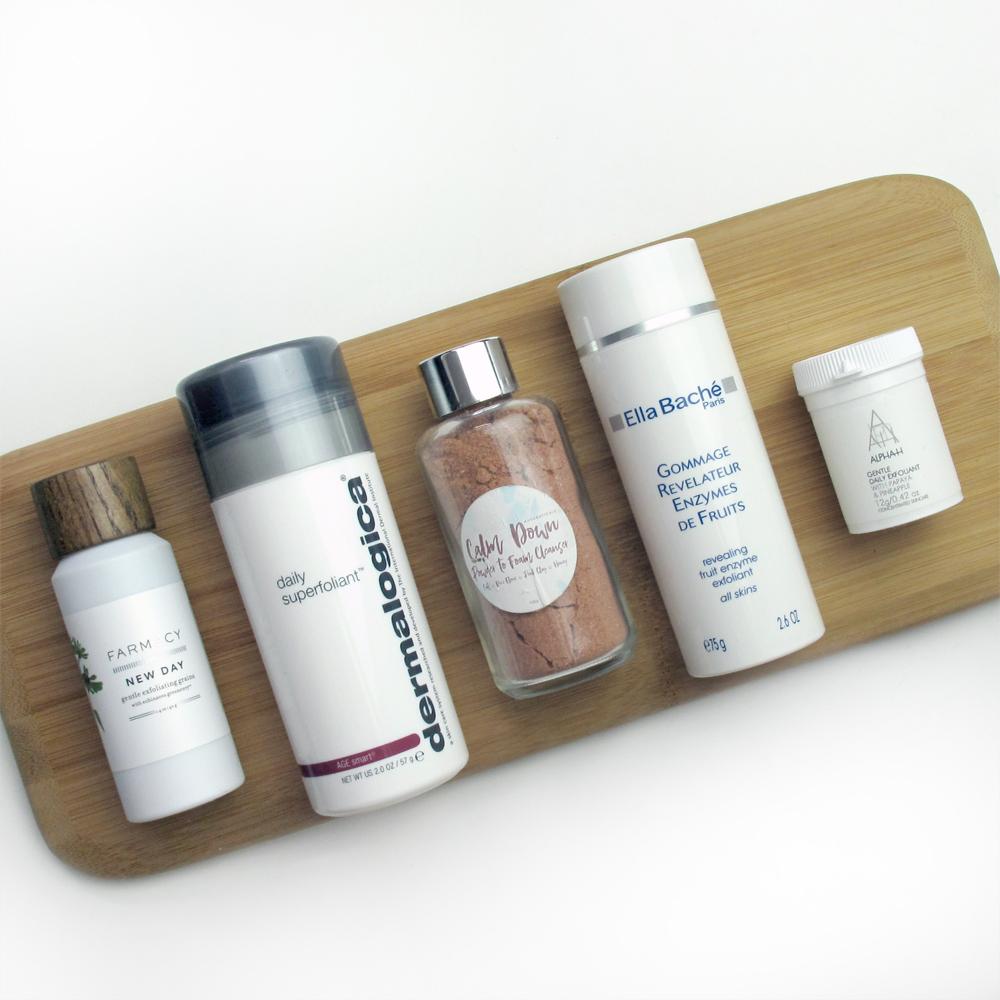 Powder Cleanser and Exfoliant Review: Dermalogica, Farmacy, Alpha-H, Ella Bache, Ausceuticals