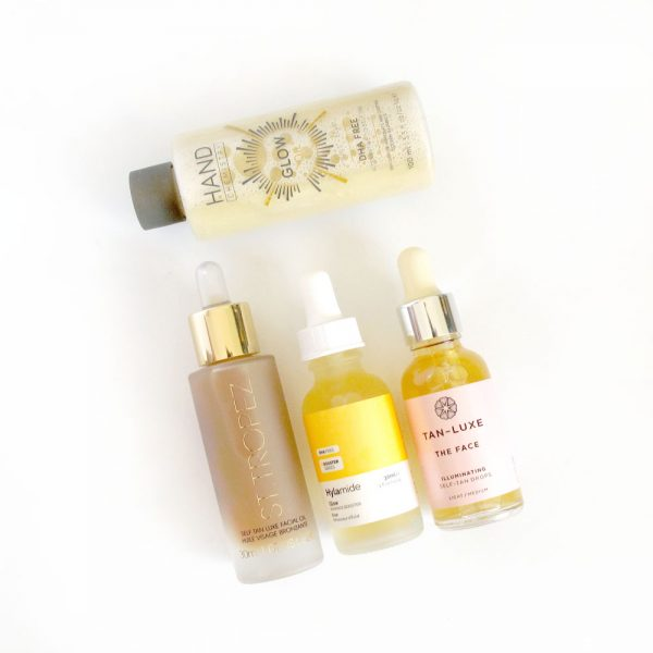 Facial Tan Product Review: Hylamide, St Tropez, Tan-Luxe, Hand Chemistry