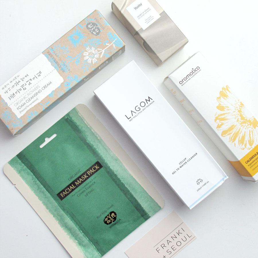 Natural Korean Skincare Review: Whamisa, Lagom, Huxley, Aromatica