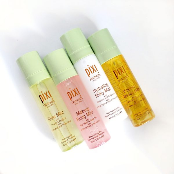 Pixi Beauty Mist review: Glow, Hydrating Milky, Vitamin Wakeup, Makeup Fixing
