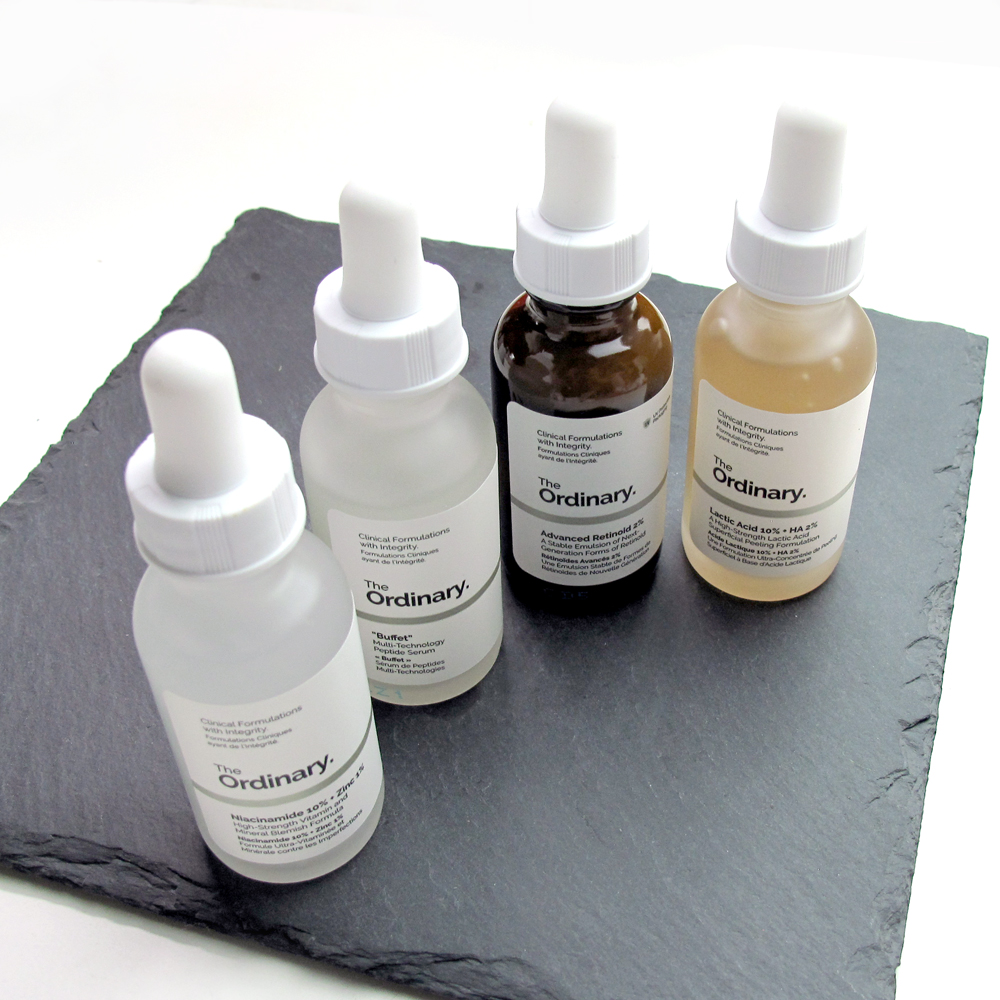 The Ordinary Skincare Review Pt 1 Lactic Acid Advanced Retinoid Lab Muffin Beauty Science