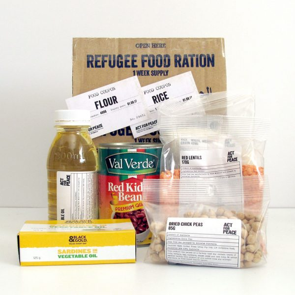 My Refugee Week Ration Challenge Experience