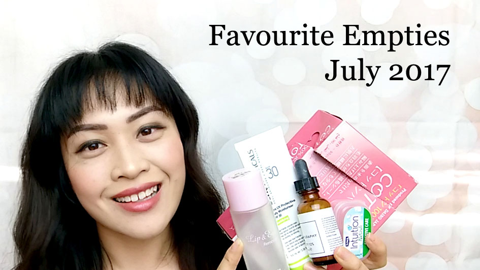 Video: Favourites/Empties July 2017
