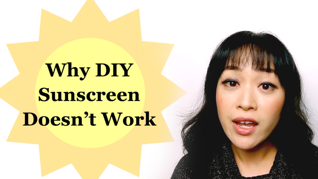 Video: Why DIY Sunscreen Doesn't Work