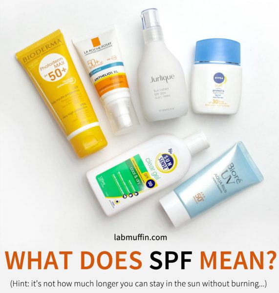 What Does SPF Mean? The Science of Sunscreen