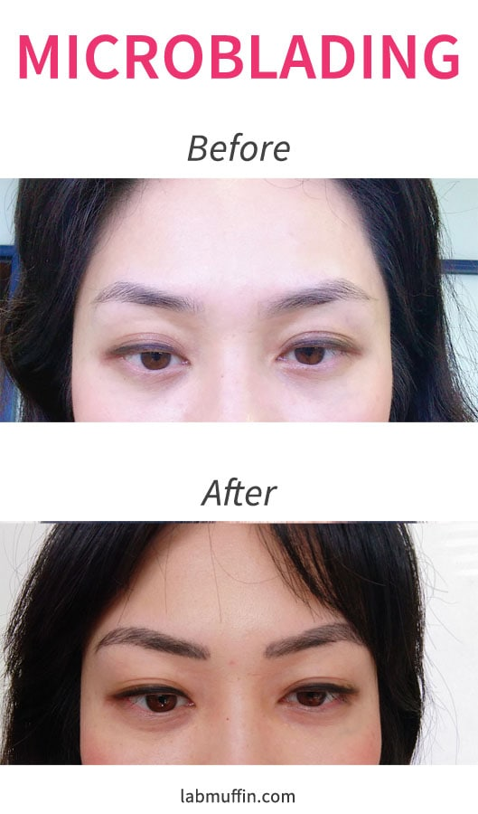Eyebrow Microblading Review + Before & After