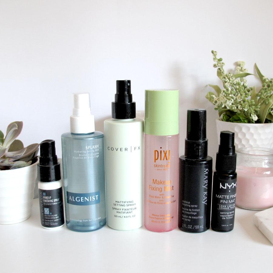 How Do Make-Up Setting Sprays Work?