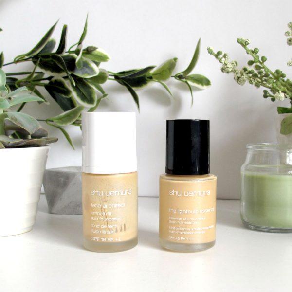 Foundation Reviews: Shu Uemura, Designer Brands, The Body Shop