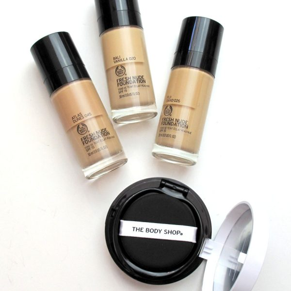 Foundation Reviews: Shu Uemura, Designer Brands, The Body Shop