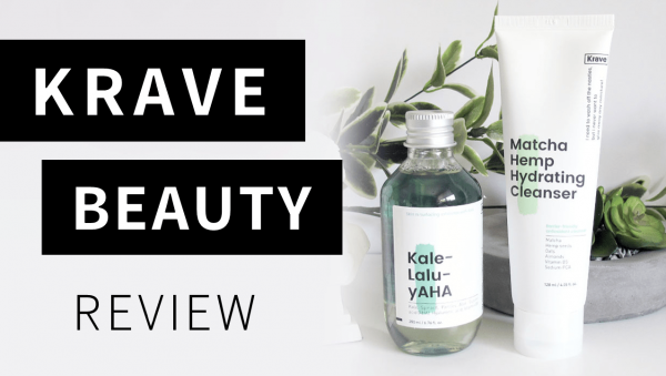 Video: KraveBeauty Skincare Review (Kale-lalu-yAHA and Matcha Hemp Hydrating Cleanser)