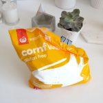 DIY Mattifying Face Powder: Just a bag of corn starch