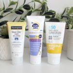 Zinc Sunscreen Review and White Cast Comparison: Neutrogena, Invisible Zinc, SunSense