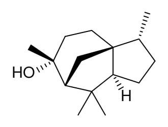 Cedar-cedrol-structure