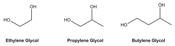 What are propylene and butylene glycol, and are they safe?