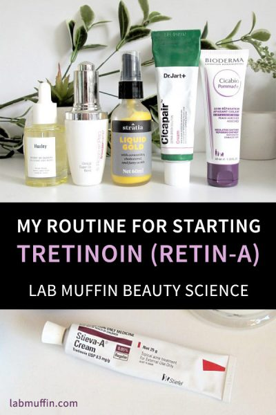 My Routine for Starting on Tretinoin (Retin-A) Cream