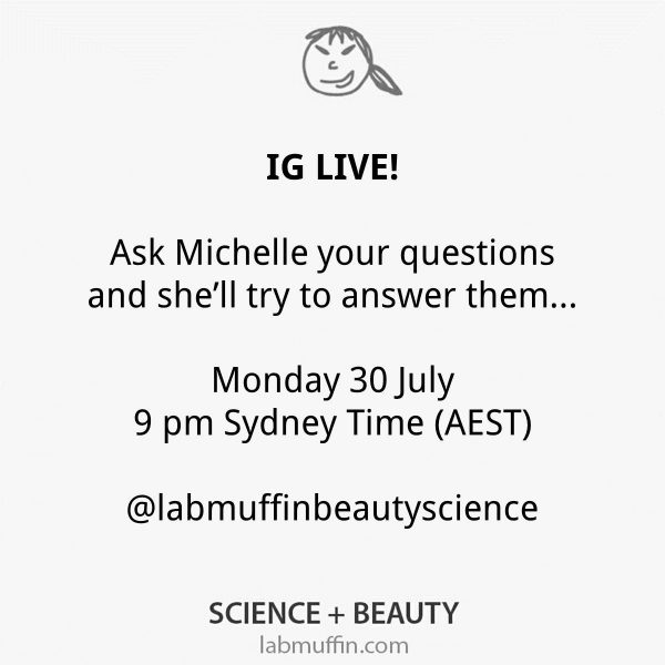 Instagram Live – Tomorrow (Monday) at 9 pm AEST