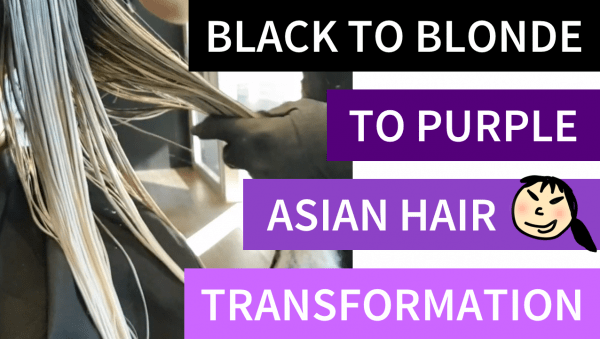 My Asian Hair Bleaching Experience (Video)