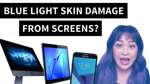 Will Blue Light from Computers and Phones Damage Your Skin?